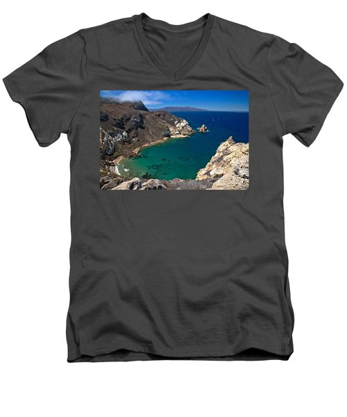 Potato Harbor Views Men's V-Neck T-Shirt