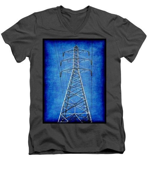 Power Up 1 Men's V-Neck T-Shirt