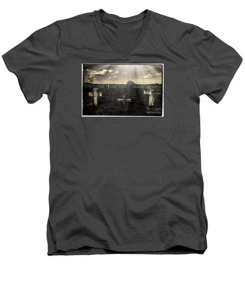 Prairie Graves Men's V-Neck T-Shirt