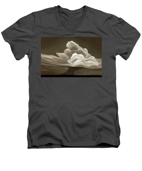 Prairy Storm IIi Men's V-Neck T-Shirt