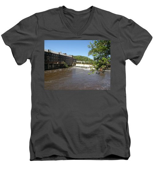 Pratt Cotton Factory Men's V-Neck T-Shirt