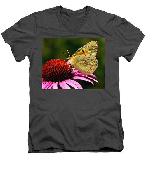Pretty As A Butterfly Men's V-Neck T-Shirt