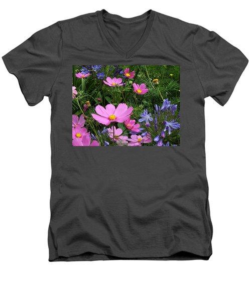 Pretty Spring Men's V-Neck T-Shirt