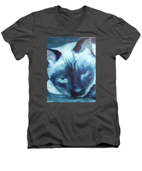 Prima Donna, Cat Men's V-Neck T-Shirt