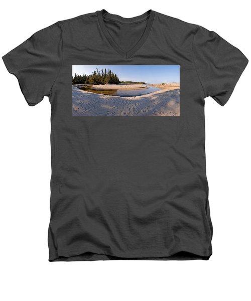 Prisoners Cove   Men's V-Neck T-Shirt