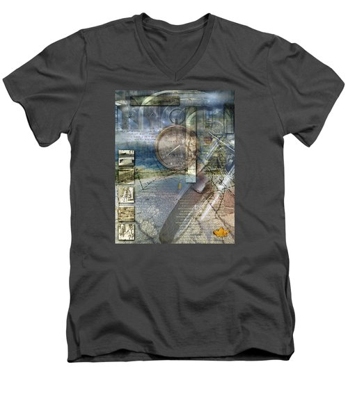 Progressions Men's V-Neck T-Shirt