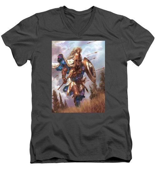 Promo Soldier Token Men's V-Neck T-Shirt