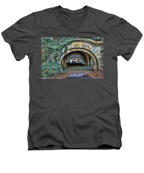 Prospect Park Passage - Brooklyn Men's V-Neck T-Shirt