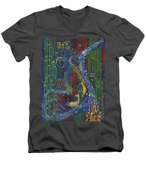 Prosperity Men's V-Neck T-Shirt