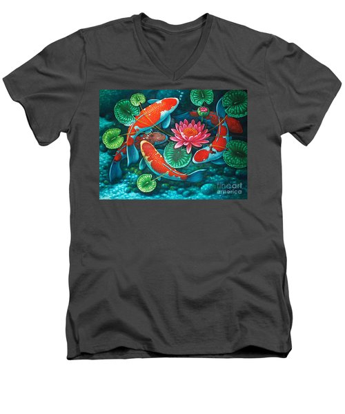 Prosperity Pond Men's V-Neck T-Shirt