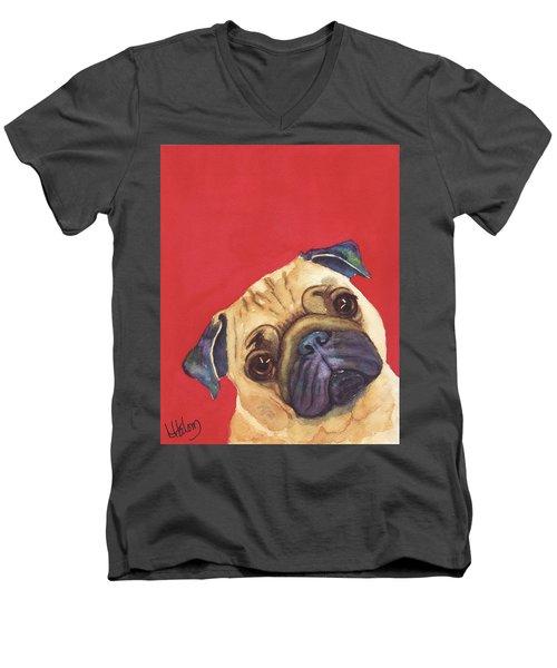 Pug 2 Men's V-Neck T-Shirt