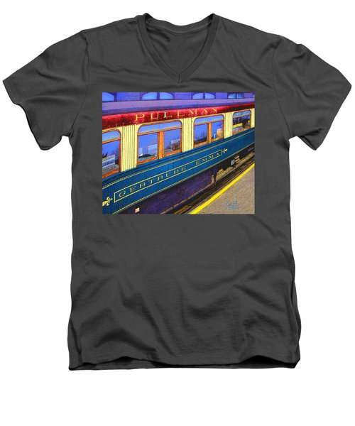 Pullman Men's V-Neck T-Shirt