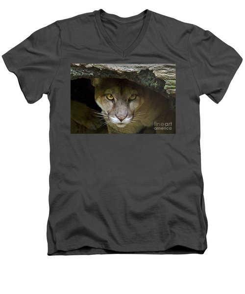 Puma Men's V-Neck T-Shirt