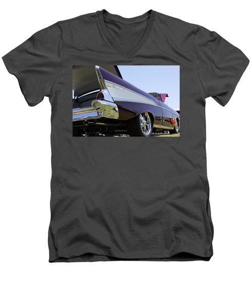 Men's V-Neck T-Shirt featuring the photograph Purple And Sexy by Shoal Hollingsworth