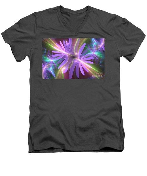 Purple Dream Men's V-Neck T-Shirt
