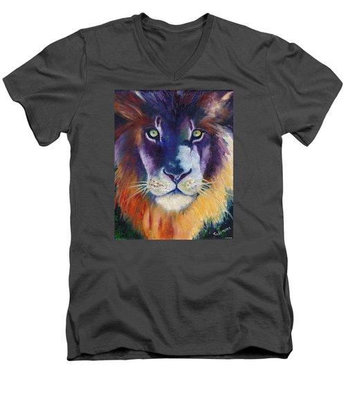 Purple Majesty Men's V-Neck T-Shirt