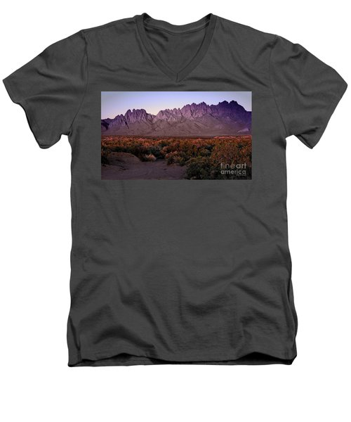 Purple Mountain Majesty Men's V-Neck T-Shirt