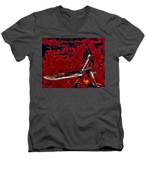 Pyramid Head Men's V-Neck T-Shirt