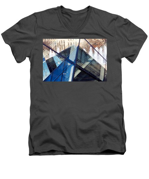 Pyramid Skylights Men's V-Neck T-Shirt