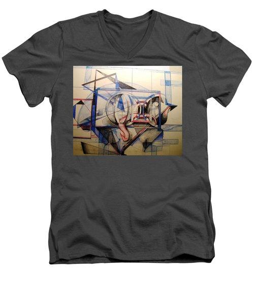 Q Men's V-Neck T-Shirt