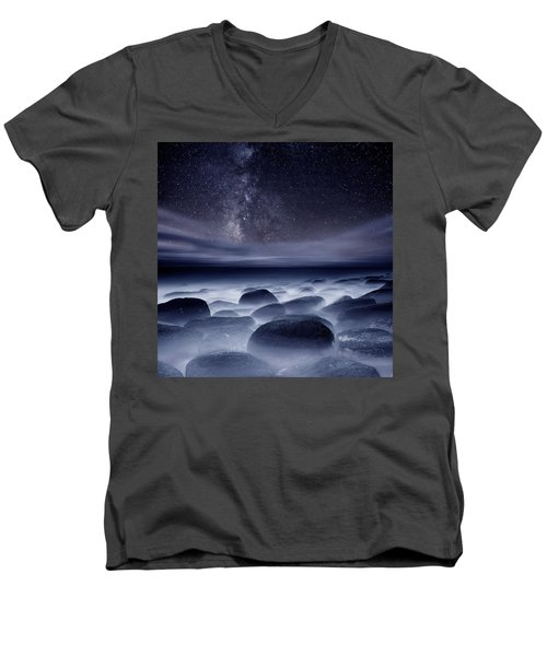 Quest For The Unknown Men's V-Neck T-Shirt