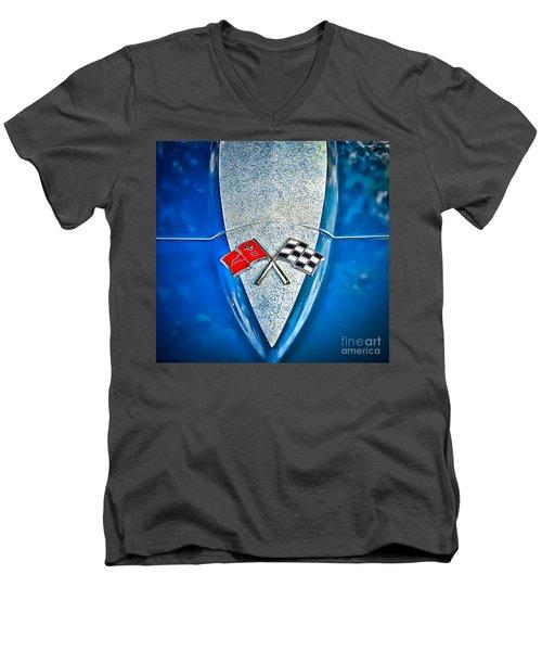 Race To Win Men's V-Neck T-Shirt