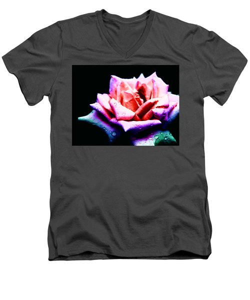 Rachel's Rose Men's V-Neck T-Shirt
