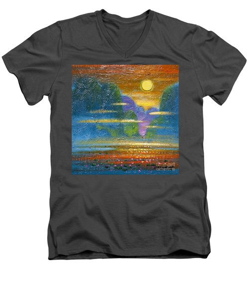 Radiance 2 Men's V-Neck T-Shirt