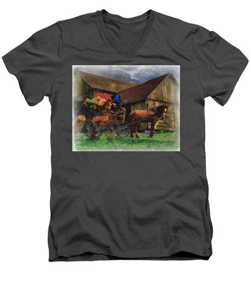 Rag Man Men's V-Neck T-Shirt
