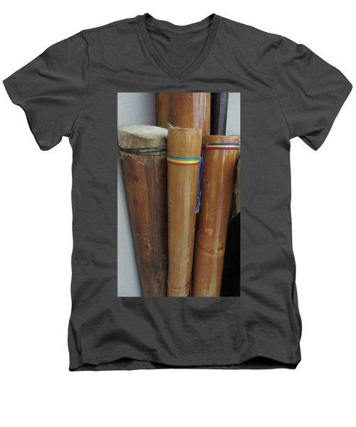 Rain Sticks Men's V-Neck T-Shirt
