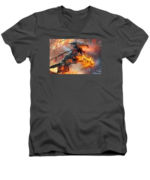 Rakdos Ragemutt Men's V-Neck T-Shirt