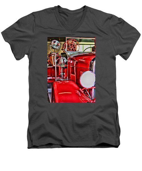Ready For The Ring By Diana Sainz Men's V-Neck T-Shirt