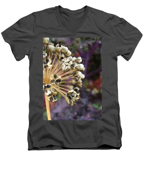 Men's V-Neck T-Shirt featuring the photograph Ready To Disperse by Cheryl Hoyle
