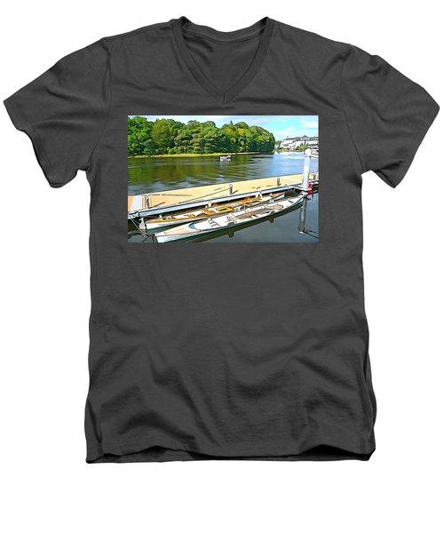 Ready To Row Men's V-Neck T-Shirt