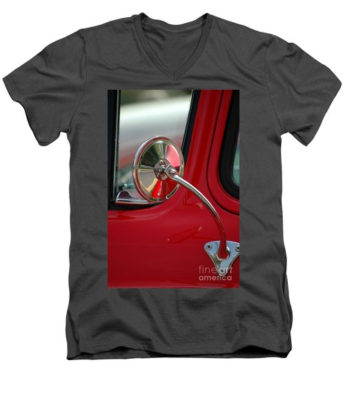 Men's V-Neck T-Shirt featuring the photograph Rear View by Christiane Hellner-OBrien