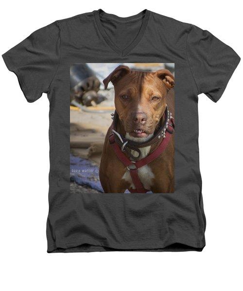 Rebuild Men's V-Neck T-Shirt