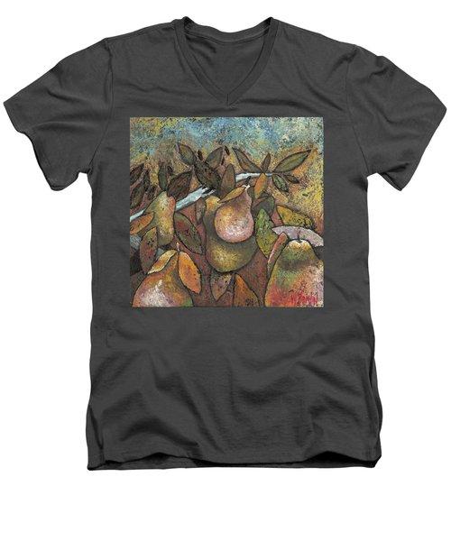 'recognized By It's Fruit' Men's V-Neck T-Shirt