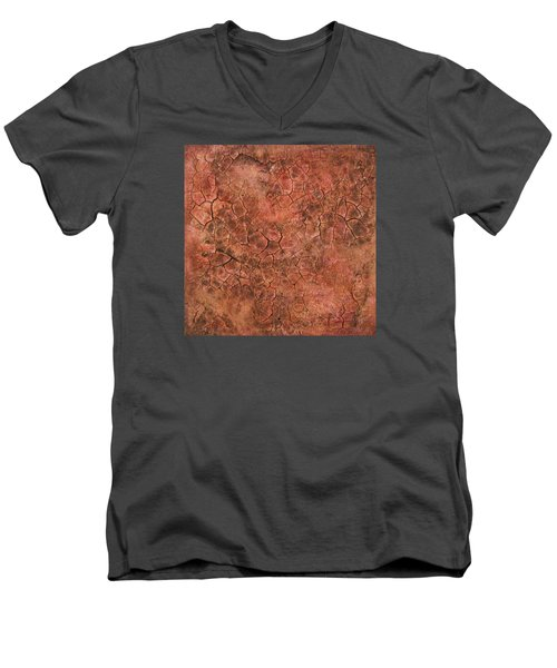 Red Eye Men's V-Neck T-Shirt