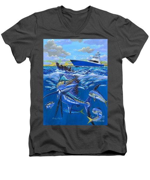 Reef Sail Off00151 Men's V-Neck T-Shirt
