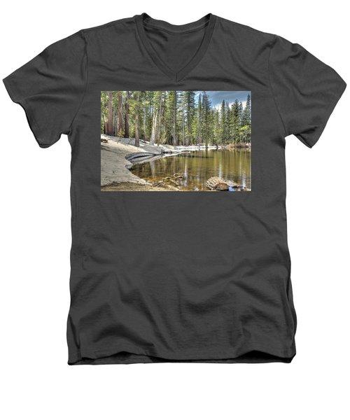 reflecting pond 2 Carson Spur Men's V-Neck T-Shirt