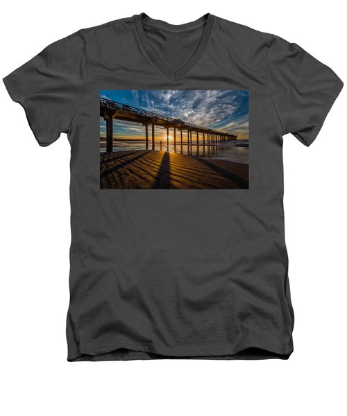 Reflection And Shadow Men's V-Neck T-Shirt
