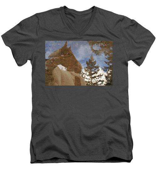Upon Reflection Men's V-Neck T-Shirt