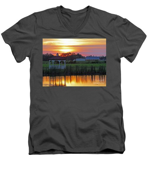 Reflection Of Beauty Men's V-Neck T-Shirt
