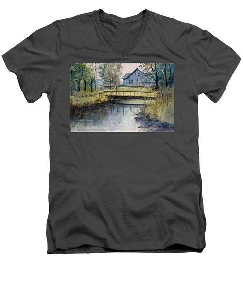 Reflections #2 Men's V-Neck T-Shirt
