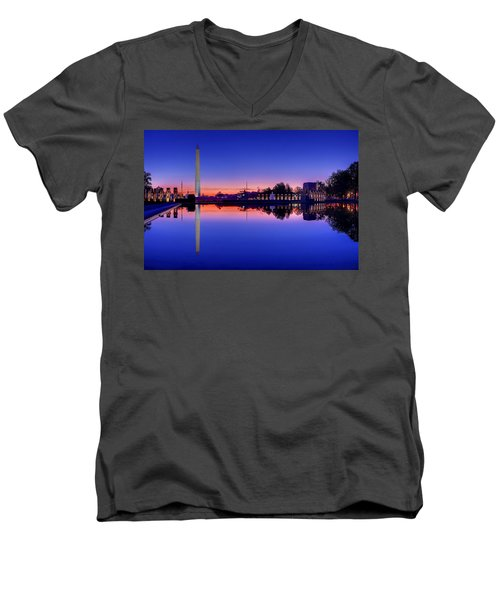 Reflections Of World War II Men's V-Neck T-Shirt