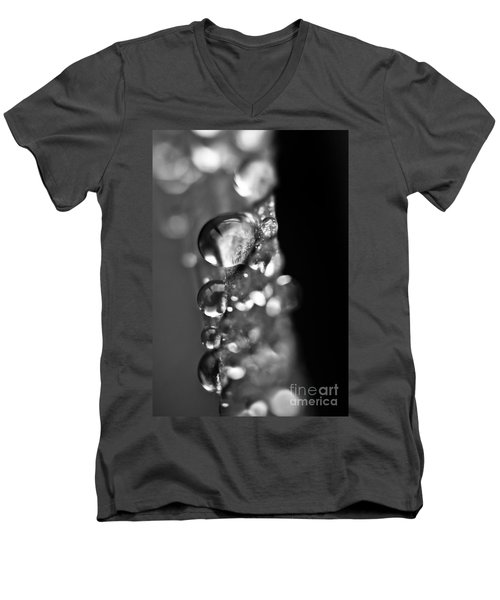 Reflective Rain Men's V-Neck T-Shirt