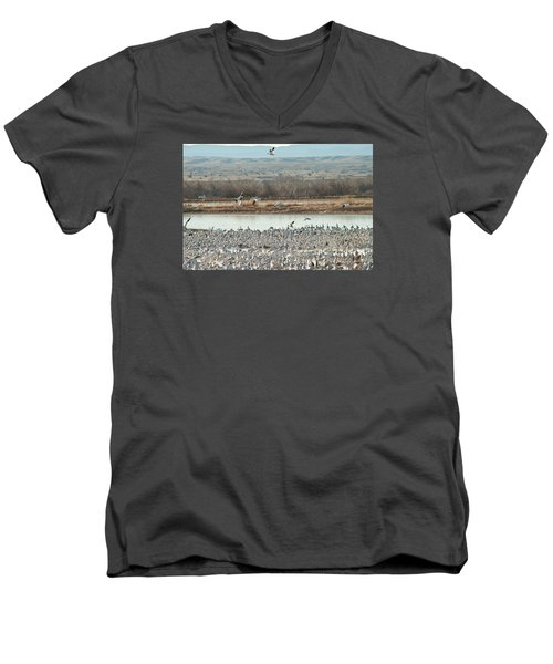 Refuge View 2 Men's V-Neck T-Shirt
