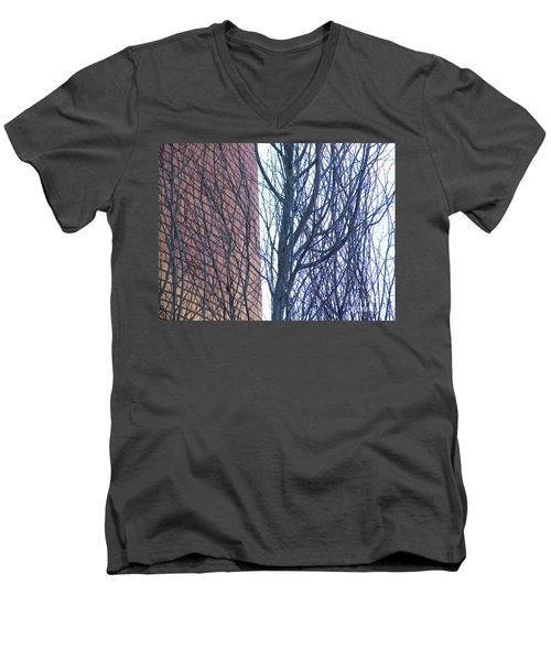 Regular Irregularity  Men's V-Neck T-Shirt by Brian Boyle