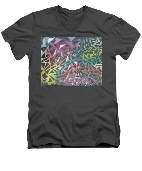 Reigning Triangles Men's V-Neck T-Shirt
