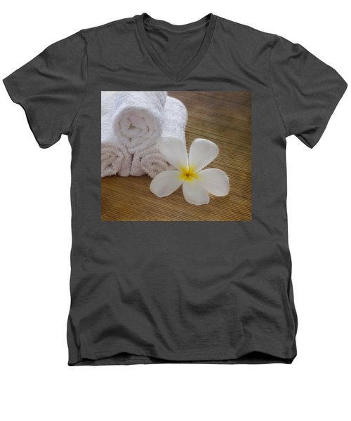 Relax At The Spa Men's V-Neck T-Shirt